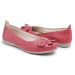Sapatilha Feminina Top Franca Shoes Conforto Goiaba