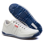 Sapatênis Casual Conforto Masculino Top Franca Shoes Gelo