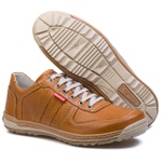 Sapatênis Casual Conforto Masculino Top Franca Shoes Castor