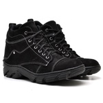 Bota Coturno Adventure Masculino Top Franca Shoes Preto / Branco