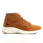 Bota Tênis Sapatênis Top Franca Shoes Olimpo Dourado