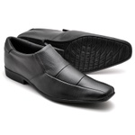 Kit 2 Pares Sapato Social Masculino Top Franca Shoes Preto