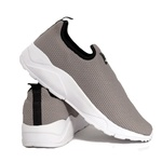 Tênis Esporte Fitnes Top Franca Shoes Cinza