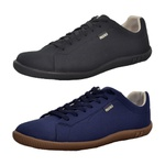 Kit 2 Pares Sapatênis Casual Top Franca Shoes Azul / Preto