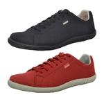 Kit 2 Pares Sapatênis Casual Top Franca Shoes Preto / Vermelho