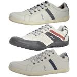 Kit 3 Pares Sapatênis Casual Top Franca Shoes Cinza