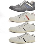 Kit 4 Pares Sapatênis Casual Top Franca Shoes Preto / Cinza