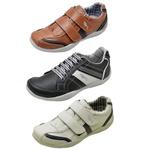 Kit 3 Pares Sapatênis Casual Infantil Top Franca Shoes Camal / Preto / Cinza