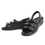 Sandália Top Franca Shoes Feminina Conforto Preto