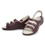 Sandália Top Franca Shoes Feminina Conforto Vinho