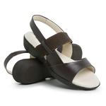 Sandália Top Franca Shoes Feminina Conforto Café