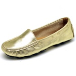 Mocassim Drive Sider Feminino Top Franca Shoes Ouro