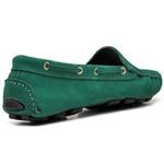 Mocassim Drive Sider Feminino Top Franca Shoes Verde