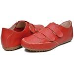 Mocatênis Feminino Top Franca Shoes Vermelho