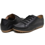 Mocatênis Feminino Top Franca Shoes Preto