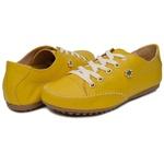 Mocatênis Feminino Top Franca Shoes Amarelo