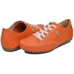 Mocatênis Feminino Top Franca Shoes Laranja