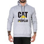 Moletom Caterpillar com Capuz Cinza