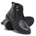 Bota Coturno Masculino Top Franca Shoes Preto