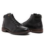 Bota Coturno Top Franca Shoes Preto