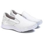 Tênis Sapatenis Slip Top Franca Shoes Off White