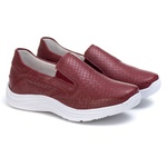 Tênis Sapatenis Slip Top Franca Shoes Bordo
