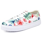 Tênis Sapatenis Top Franca Shoes Floral