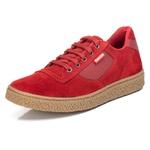 Tênis Sapatênis Casual Top Franca Shoes Vermelho
