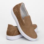 Tênis Sapatênis Slip Casual Top Franca Shoes Areia