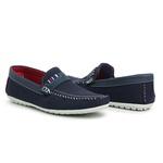 Sapato Masculino Mocassim Top Franca Shoes Azul