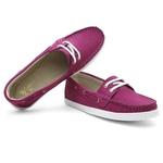 Sider Mocassim Feminino Top Franca Shoes Fuscia