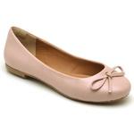 Sapatilha Feminina Bico Redondo Top Franca Shoes Rosa Bebê