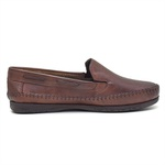 Sapatilha Mocassin Masculino Top Franca Shoes Conhaque
