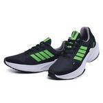 Tenis Masculino Training Corrida Esport Fit Preto Verde