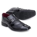 Sapato Social Verniz Top Franca Shoes Preto