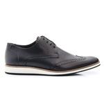 Sapato Oxford Masculino Esporte Fino Casual Preto