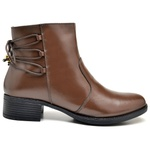 Bota Coturno Country Montaria Feminina Top Franca Shoes Cafe