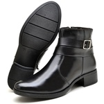 Bota Country Montaria Feminina Top Franca Shoes Preto