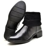 Bota Country Montaria Feminina Top Franca Shoes Preto
