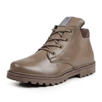 Bota Coturno Casual Masculino Top Franca Shoes Chocolate