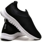 Tênis Masculino Esporte Fit Snap Shoes Preto