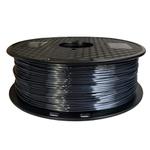 Filamento PLA Silk 1.75mm 1Kg - Preto