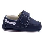 Sapato Mocassim Slip On Infantil Bebê Azul