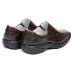 Sapato Casual Confortável Masculino Couro Legítimo