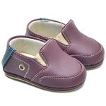 Sapato Mocassim Bordô Infantil Bebê