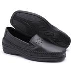 Sapato Mocassim Preto Confortável Feminino