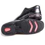 Sapato Preto Masculino Confortável Rafarillo com Amortecedor
