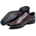Sapato Social Marrom Masculino Couro