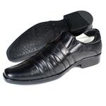 Sapato Social Masculino Couro Palmilha Gel Super Confortável