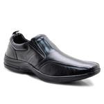 Sapato Social Masculino Couro Preto Pelica Pipper